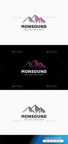 Sound Wave Logo - Symbols Logo Templates