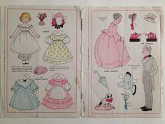 1930s Wee Wisdom Magazine Paper Dolls Vintage 10 Pages Dorothy Wagstaff | eBay
