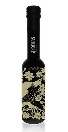 •• Diseño packaging etiquetas envases botellas aceite de oliva ejemplos embalajes y cajas