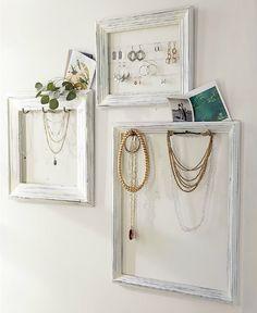 TaDa!  Perfect earring organizer. Knesting IKEA Inspiration