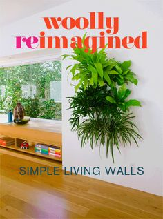 New LIving Wall Planter For Inside Or Outside From Woollypocket. The New  Modular Design Features
