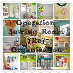 ***Skooks' Playground***: Operation: Sewing Room (Re)Organization