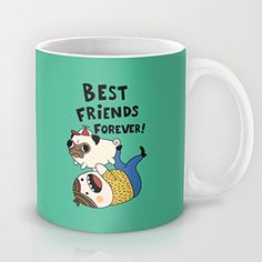 koienOU - PUG - Funny Cup / Customize Cup 11oz 3.8in H x3.2in W: Amazon.co.uk…
