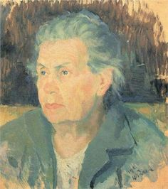 Portrait of Mother - Kazimir Malevich
