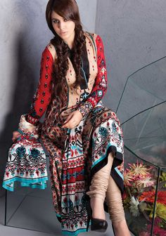 AKL - 2016 Ikkat (Classical Collection)    Al Karam Classical From AlKaram Mid-Summer Collection 2012    8.125 Meter Suit    2.5 meter Shirt with 3 colorways    And additional printed sleeves  $23.16