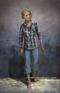 Sarah is the daughter of Joel, and the tertiary, yet the first playable character of The Last of Us. She is voiced by Hana Hayes Apocalypse Character, Apocalypse Art, Character Portraits, Character Art, Character Design, Character Ideas, Character Concept, Concept Art, Zombies