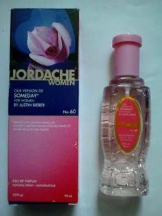 Version SOMEDAY by JUSTIN BIEBER Jordache for Women Perfume 3 FL OZ  #JORDACHEFORWOMEN