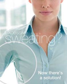 Goodbye Sweat – Ways to Sweat Less