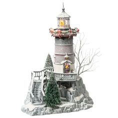 Department 56: Products - Winters Light - View Lighted Buildings