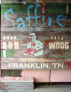 Sapphire Restaurant in Franklin, Tennessee