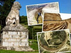 Mystery deepens over Amphipolis tomb.  The famed Lion of Amphipolis could not have been at the top of the tumulus at  Kasta hill according to geologist Evangelos Kambouroglou  [Credit: Ethnos]