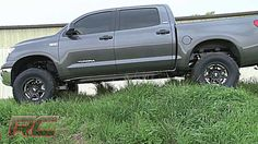 """Rough Country's Toyota Tundra 07-13 6"""" Suspension Lift Kit Only $1299.95! 2014 Tundra, Lift Kits, Toyota Tundra, Trucks, Country, Rural Area, Truck, Country Music"""