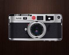 Leica M8 Camera iPhone Decal Sticker