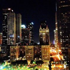 DTLA - Not many places are as beautiful at night as our lovely downtown Los Angeles.