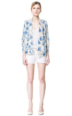 Image 1 of PRINTED JACKET from Zara