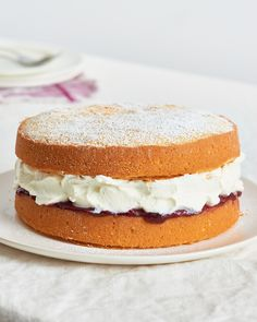 Recipe: Victoria Sponge Sandwich Cake — Recipes from The Kitchn