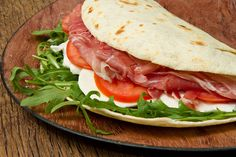 Delivered to You by Drone: Piadina Romagnola
