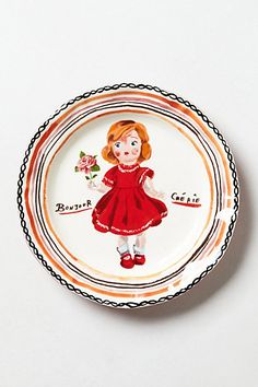 Babydoll Plate #anthropologie