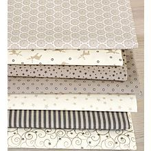 Quiltpaket in ecru/beige