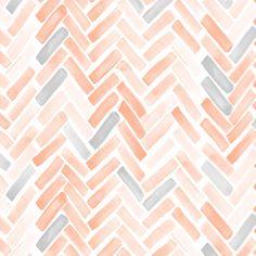 pale blush gray herringbone fabric by mrshervi on Spoonflower - custom fabric