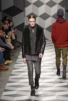 Standard Deviation - Fashion. Design. Culture. Art. Myko.: Robert Geller Fall / Winter 2013 Menswear Runway
