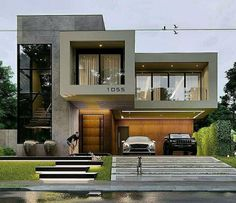 10 most amazing modern buildings - house items federation house house inspo house facades ideas manchines houses shiplap house kail lo - Modern House Facades, Modern Architecture House, Modern House Plans, Modern Buildings, Architecture Design, Architecture Colleges, Security Architecture, Computer Architecture, Architecture Background