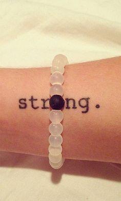 My Lokai bracelet reminds me to live a more balanced life.