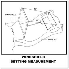 Manx Buggy Windshield Seal That Goes Between The Glass And