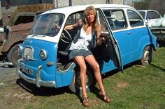 Fiat 600, 70s Cars, Miniature Cars, Cars And Motorcycles, Dream Cars, Volkswagen, Auto Vintage, Boutique, Lady