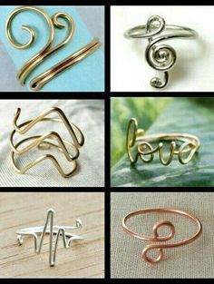 18 Ideas Jewerly Wire Wrapping Diy Ring Tutorial For 2019 Diy Rings Tutorial, Flower Tutorial, Do It Yourself Jewelry, Diy Jewelry Inspiration, Jewelry Ideas, Jewelry Design, Jewelry Accessories, Handmade Rings, Wire Wrapped Rings
