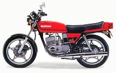 X7 from Suzuki, the first 100MPH 250 cc motor bike in the late 70s, #happydays