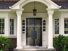 Did you know Universal Iron Doors is a leading manufacturer and supplier of superior iron doors? 💡 About this design: Rosalia Double Entry Iron Door ☎️️ 877-205-9418 🌐 www.iwantthatdoor.com Wrought Iron Doors, Garage Doors, Outdoor Decor, Design, Home Decor, Decoration Home, Wrought Iron Gates, Room Decor