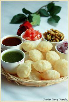 Sreelus Tasty Travels: Pani Poori - Gol Gappa