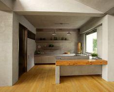 Concrete kitchen, Lecco. Arturo Montanelli