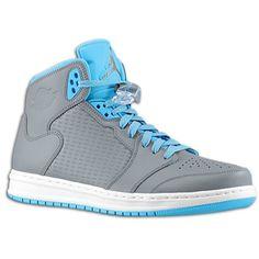 #15 Shoe - Cool Grey/Dark Power Blue/White Jordan Prime 5