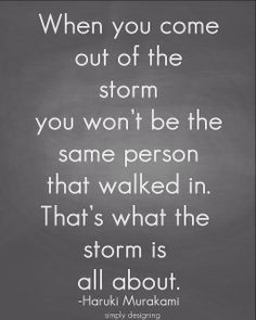 .came out of the storm, determined to have learned the lesson. Never allow anyone to disrespect MOTHER STILL A WOMEN.