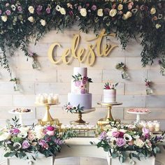 "678 Likes, 27 Comments - Tammy Pinhirun Mendoza (@letterstou) on Instagram: ""This set up by @stylechicevents is making us so excited for Spring! A dreamy floral garden party…"""
