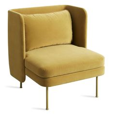 Bloke Velvet Lounge Chair -