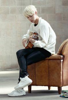 Jin ❤ Issue 5 PUMA BOG SOCK X #BTS #방탄소년단 imagine bts Jin serenading you <3