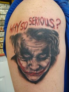 5f6b44275 What does joker tattoo mean? We have joker tattoo ideas, designs, symbolism  and we explain the meaning behind the tattoo.