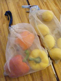 The Complete Guide to Imperfect Homemaking: DIY Reusable Produce Bags