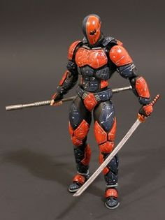 toycutter: Deathstroke custom action figures
