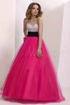 Gorgeous Sweetheart Empire Waistline Floor Length PromProm/BallBall Gown Dress,94.99,