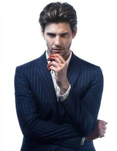 Ben Barnes would be absolutely perfect to play Prince John. Oh my gosh, he's even got blood on his hands!
