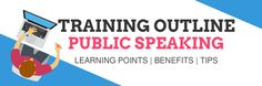 Public speaking skills training outline