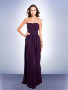 Bill Levkoff    Style Number: 193    Great Bridesmaids Dress  Chiffon gown with a sweetheart neckline, a Grecian-inspired draped bodice, ruching along the sides and a delicately pleated and shirred waist and an interior corset. Gathered A-line skirt.  Call Glitz Bridal in Nashville for other color options.