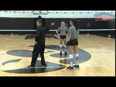 Volleyball Middle Blockers Drill: Transition to slide approach Volleyball Training, Volleyball Skills, Volleyball Workouts, Basketball Practice, Coaching Volleyball, Basketball Skills, Basketball Season, Basketball Court, Volleyball Ideas