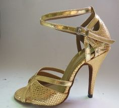 Women Classic Tango Ballroom Latin Salsa Dance Heels Shoes High Heels   eBay