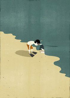 Italian illustrator Alessandro Gottardo