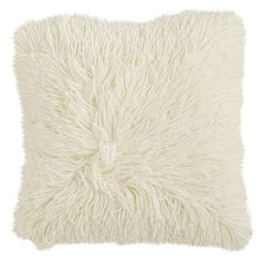 Super-fluffy and fun-furry, our oh-so-cushy pillow invites you to sink into an ocean of softness. It's a cool addition that's sized just right for your favorite chair.